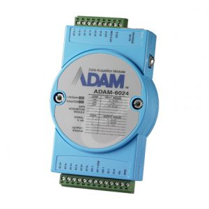 Advantech ADAM-6024 12-ch Isolated Universal Input/Output Modbus TCP Module